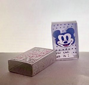 You can do it - Glücksbox mit lachender Mickey Mouse